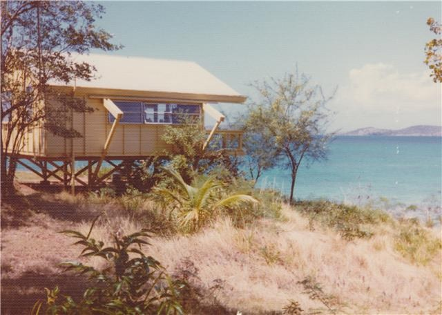 "1952 - Ellington hires Mr. Penn to build small cottage colony on land, called ""Gallows Cottages"""